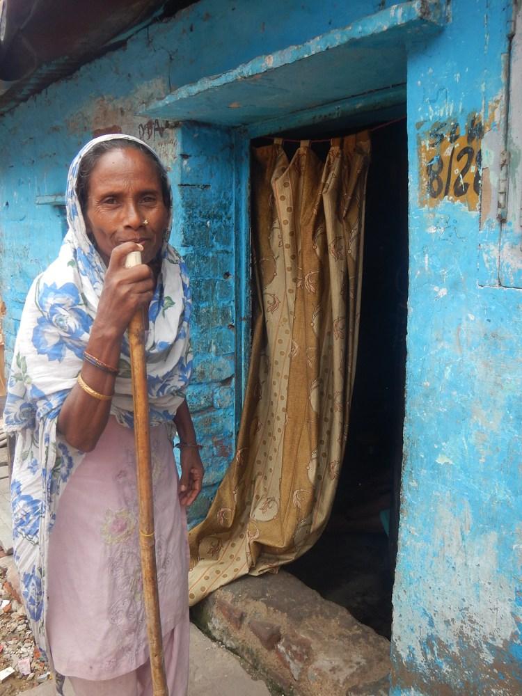 Slum en Delhi