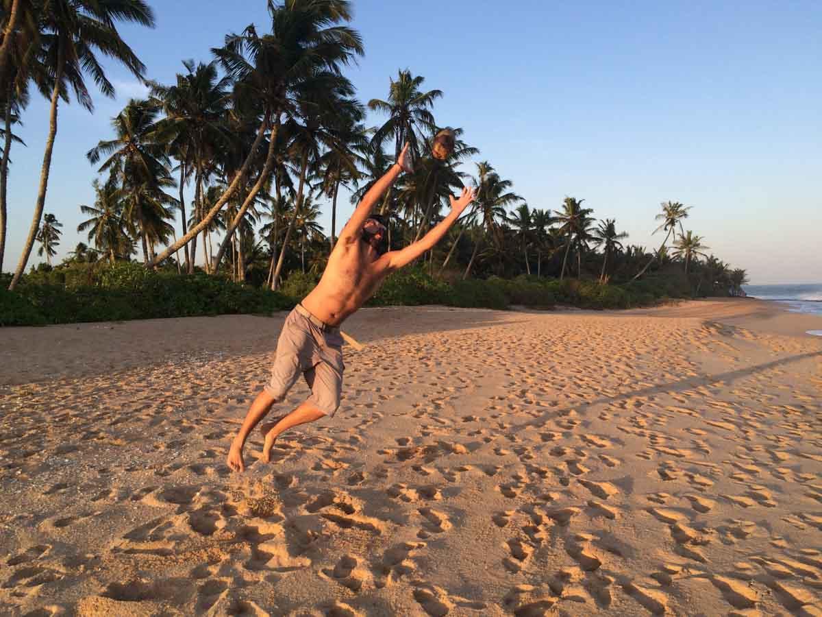 Playa en Tangalle