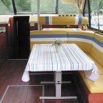 Salon del crucero fluvial