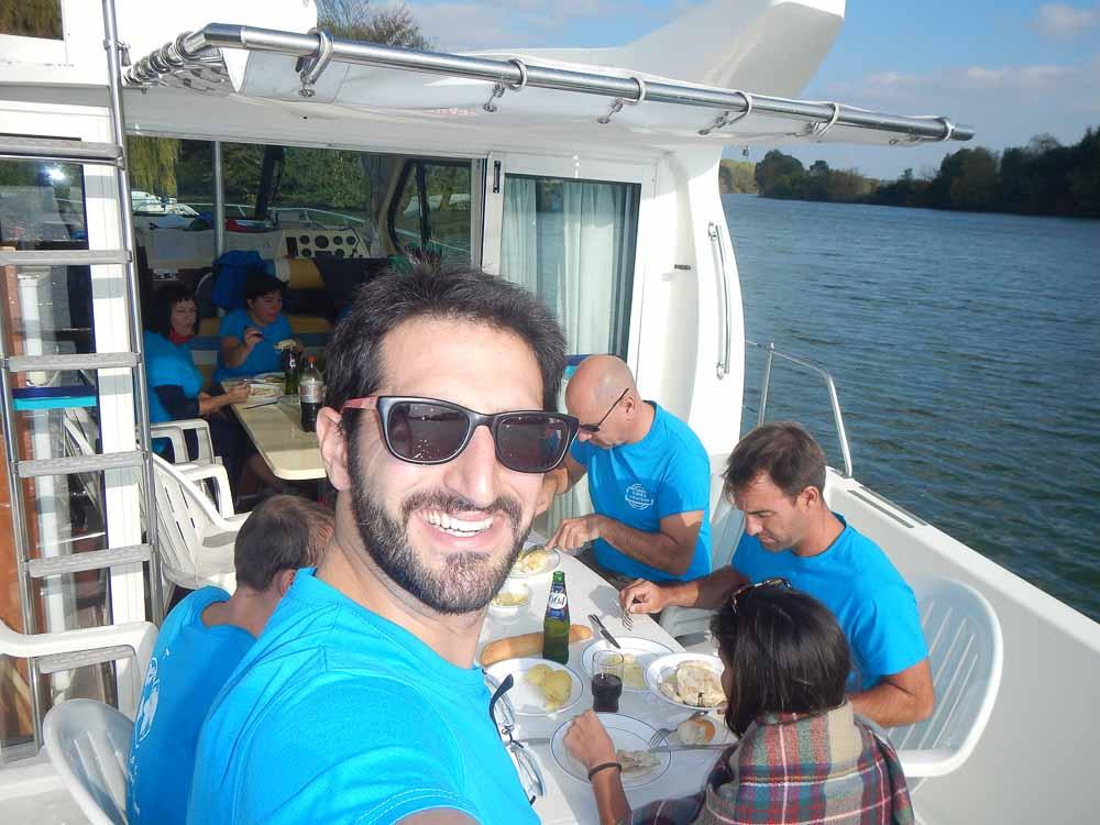 Turismo fluvial en Francia