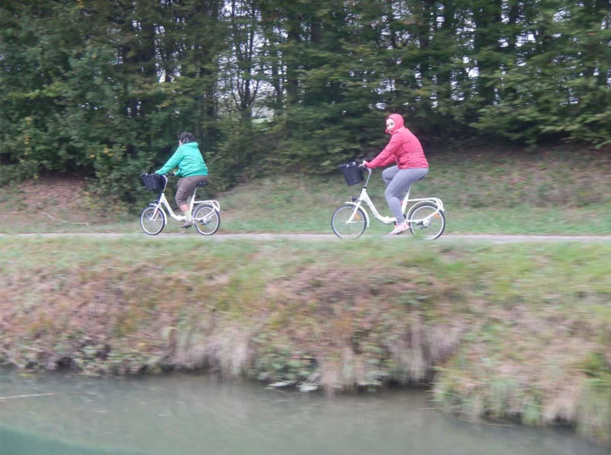 En bici por los canales de Francia