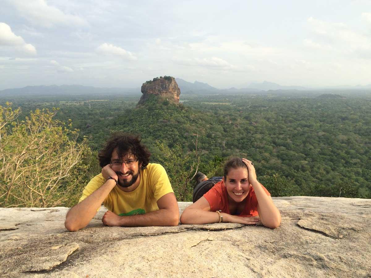 Vistas al simbolo de Sri Lanka