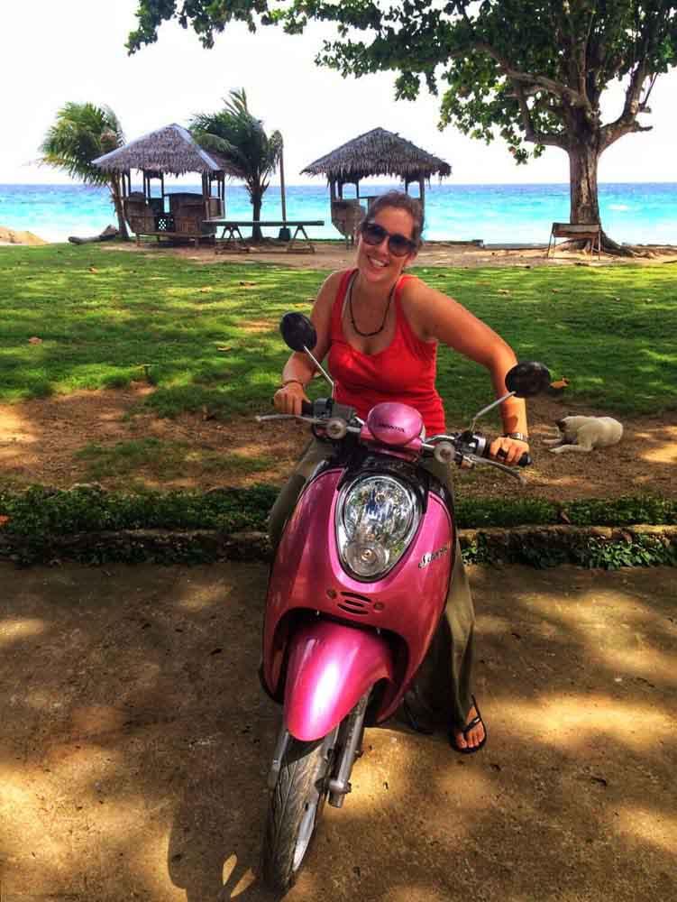 Moto en Filipinas