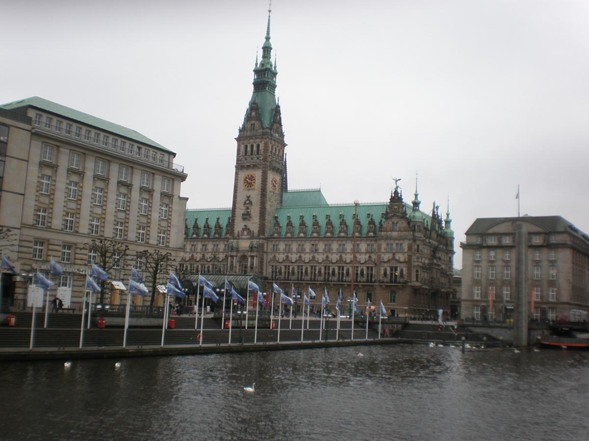 Centro historico de Hamburgo