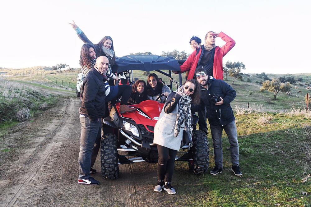 Blogueros en la provincia de Badajoz