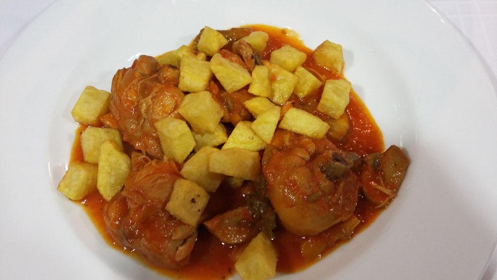 Comer en Alcala la Real