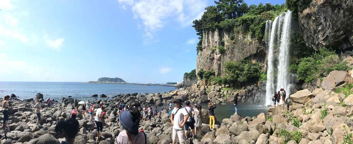 Cascada en Jeju