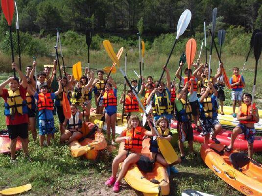 Kayak en Valencia