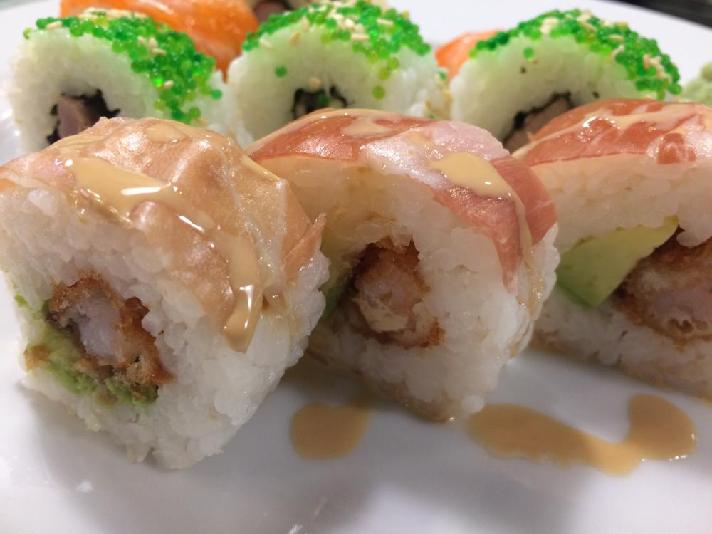 Sushi de flamenquin