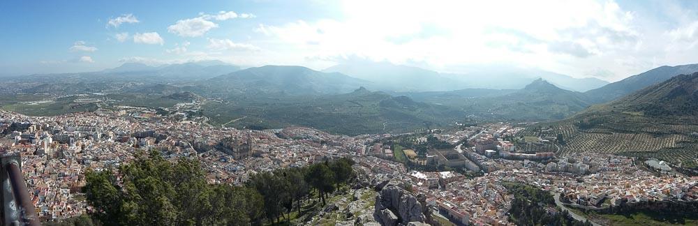 Vistas a Jaén