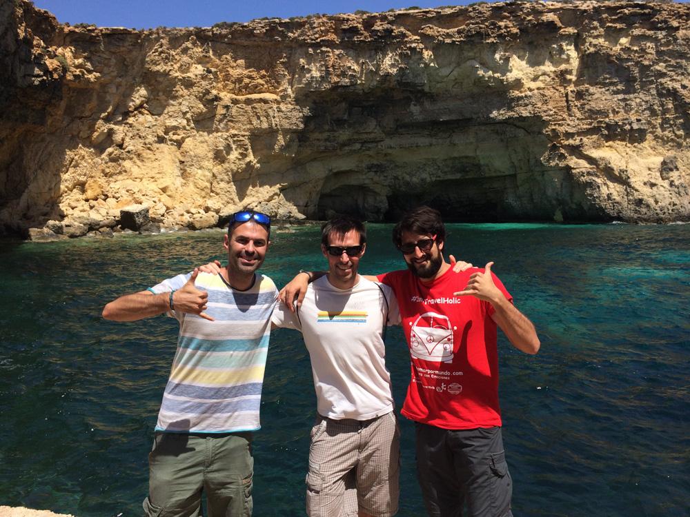 Fin de semana en Malta con amigos