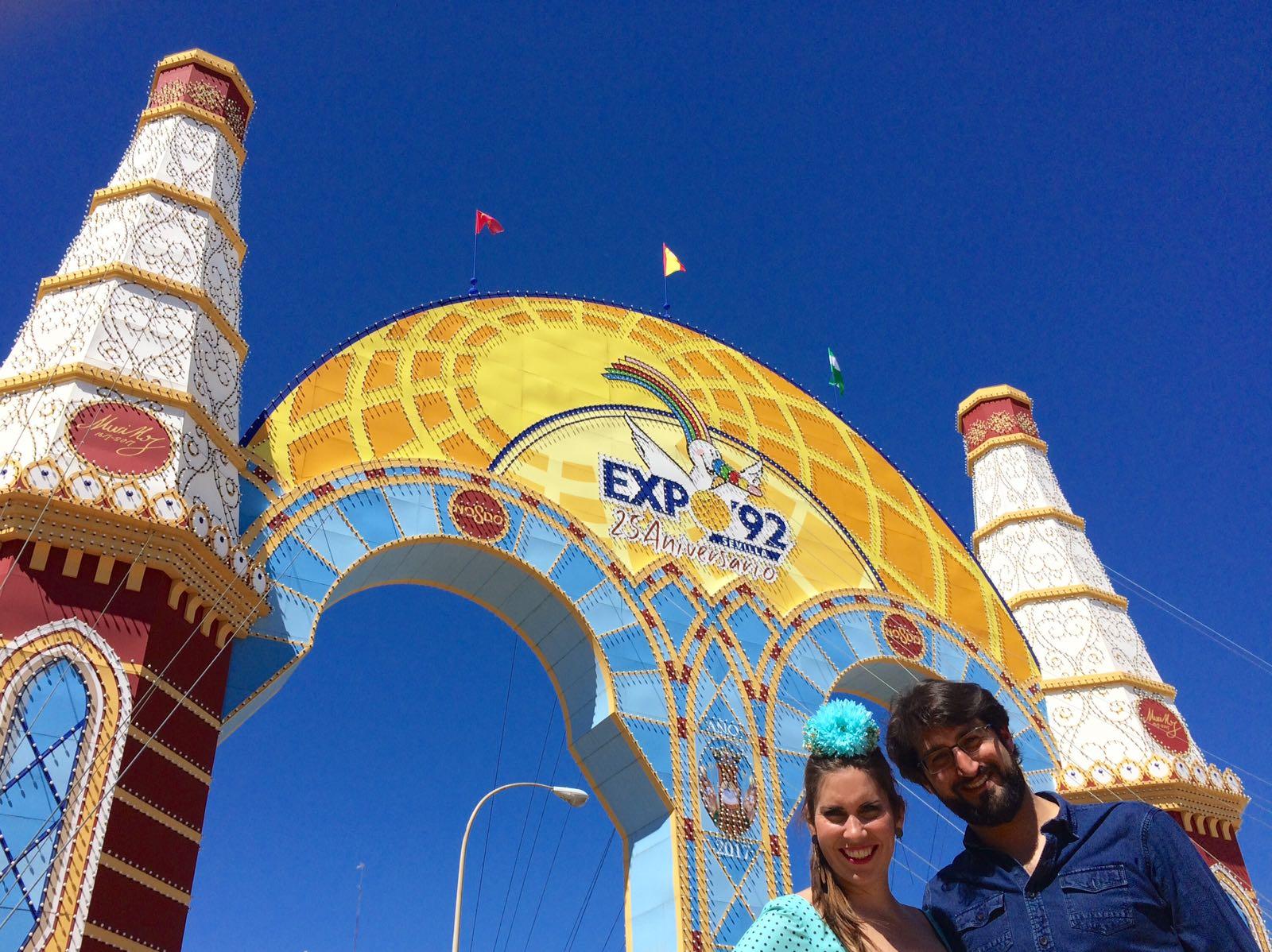 Portada Feria Abril de Sevilla