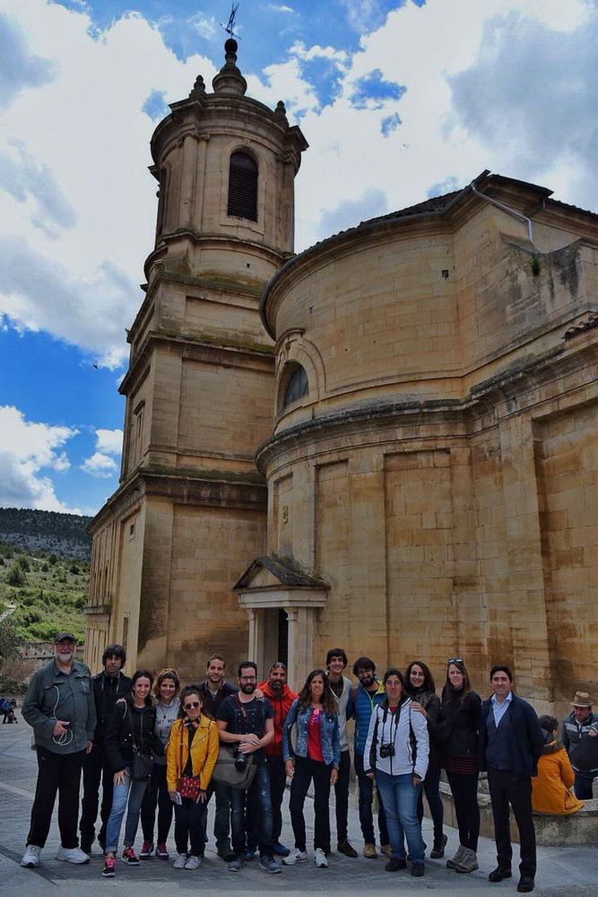 Blogueros de viaje en Santo Domingo de Silos