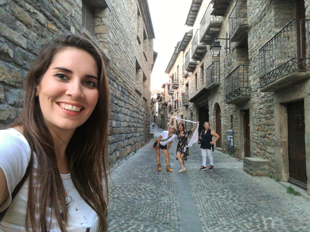 Blogueras de viaje en Ainsa