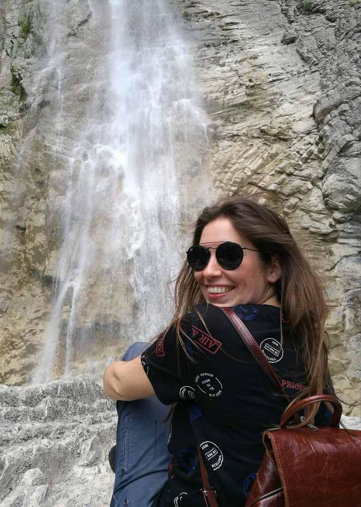 Cascada en el Pirineos