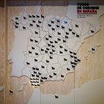 Mapa de toros de Osborne