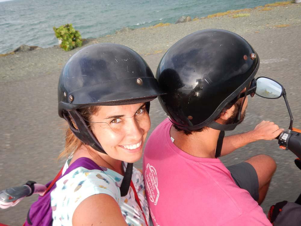 En moto por Puerto Rico