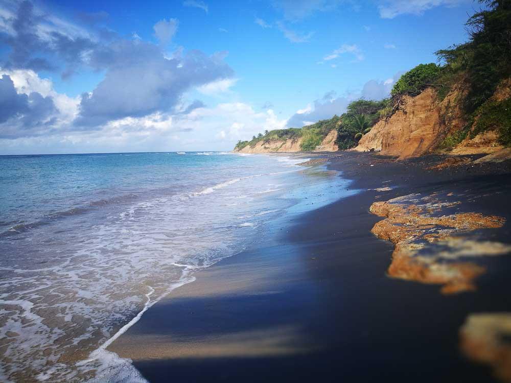 Playa negra e Puerto Rico