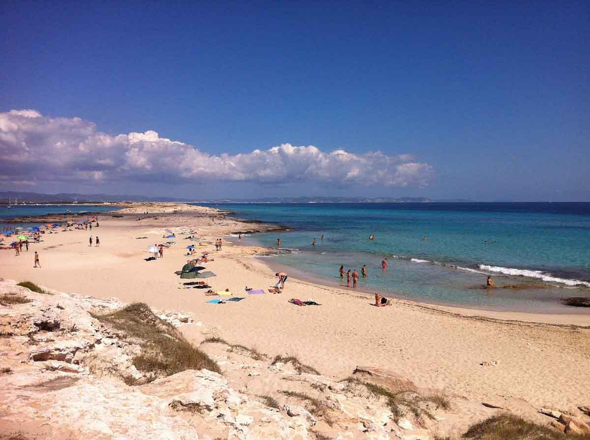 Que playas visitar en Formentera