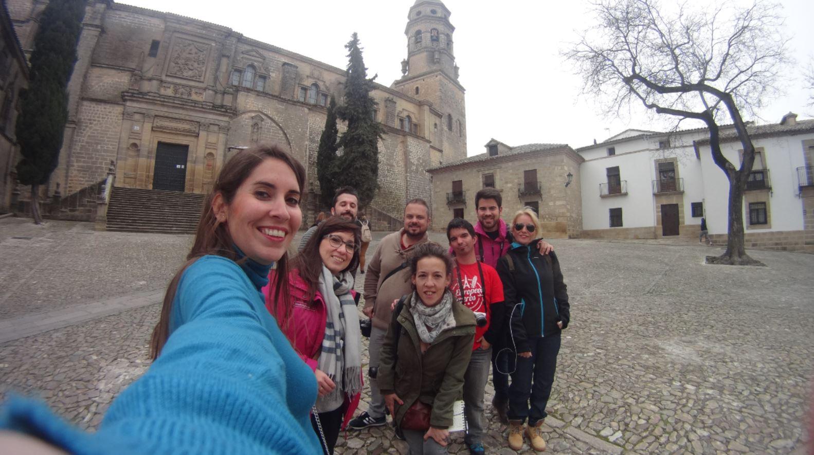 Blogueros en Baeza