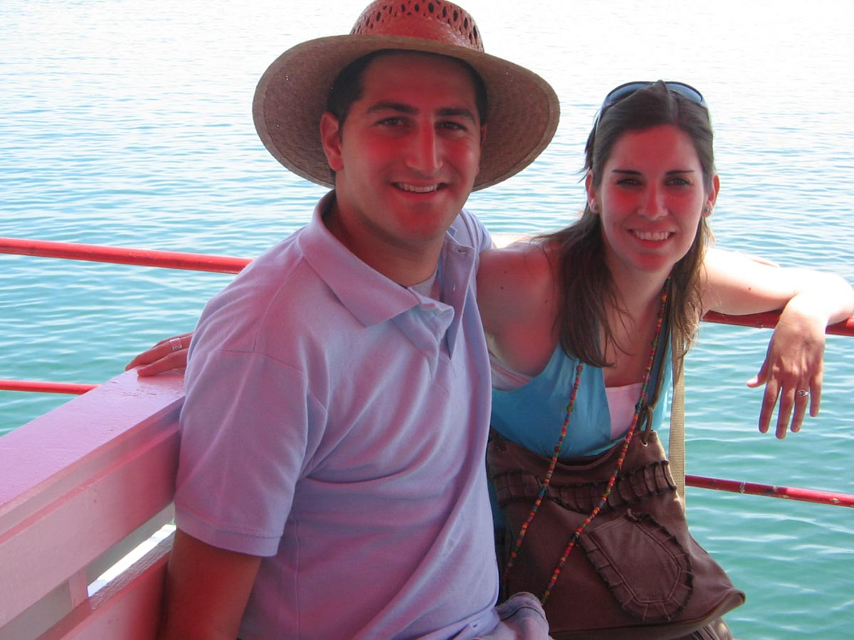 Barco en Tavira
