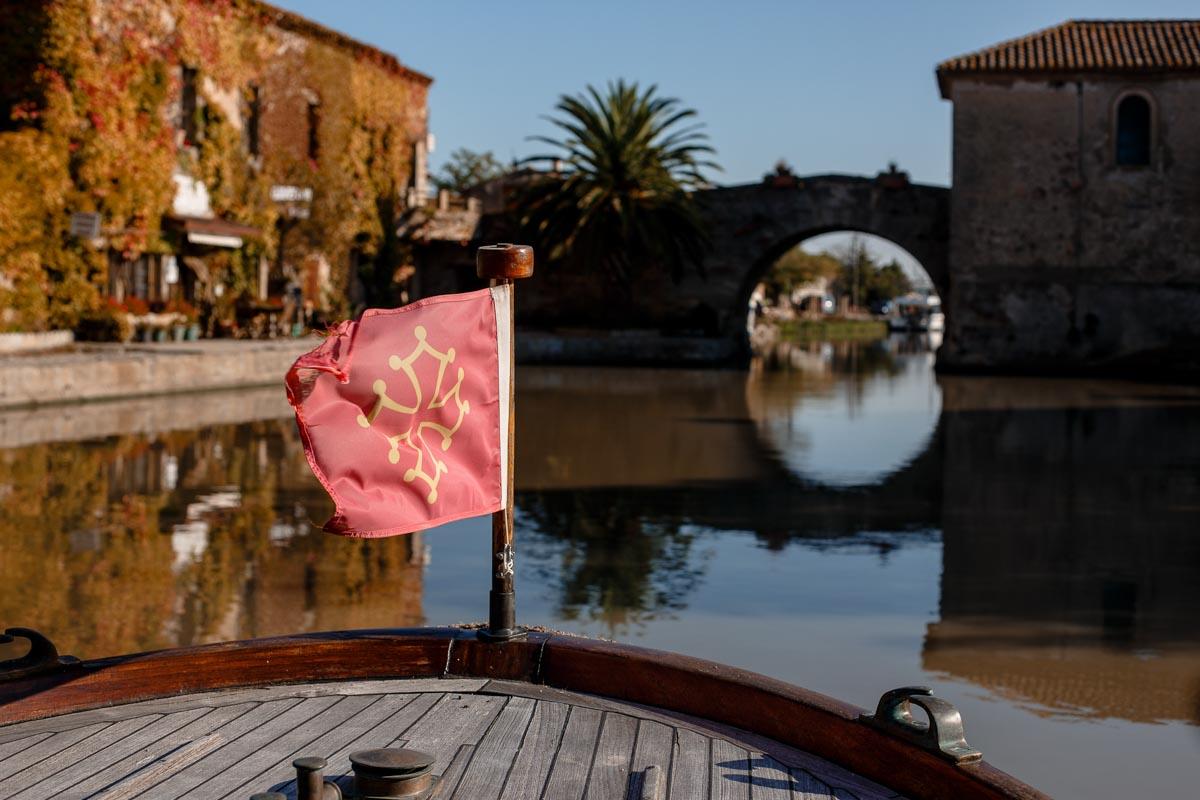 En barco por el Canal du Midi