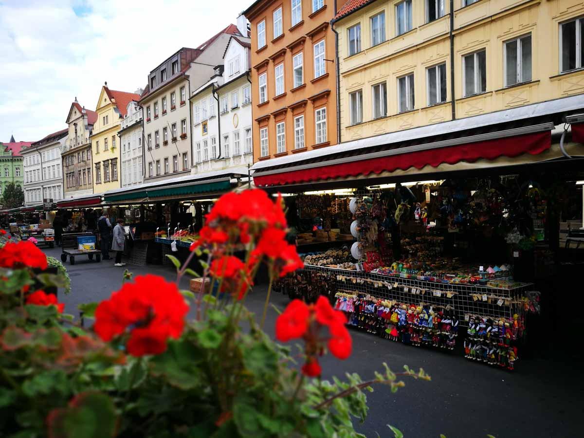 Puestos callejeros de Praga