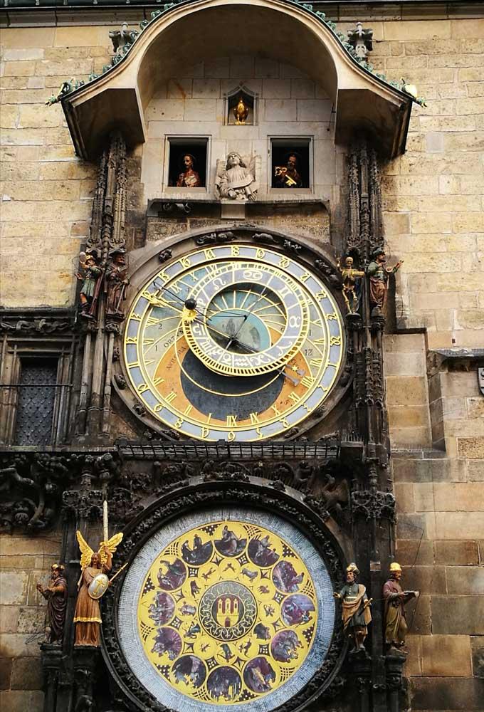 Famosos reloj de Praga