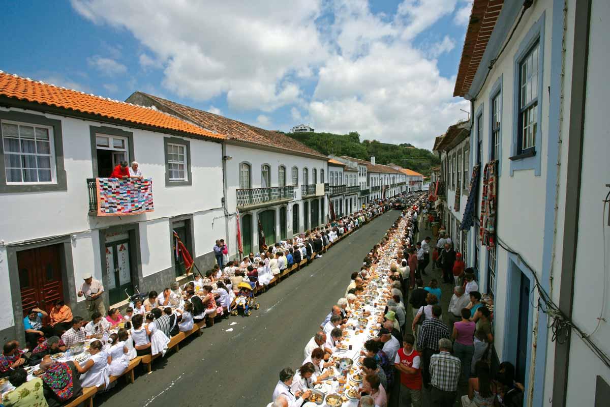 Fiestas en las Azores