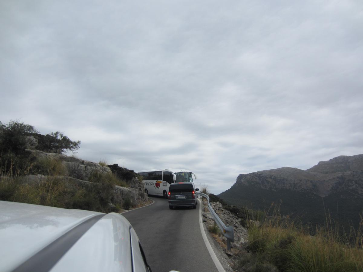 Carreteras en Mallorca