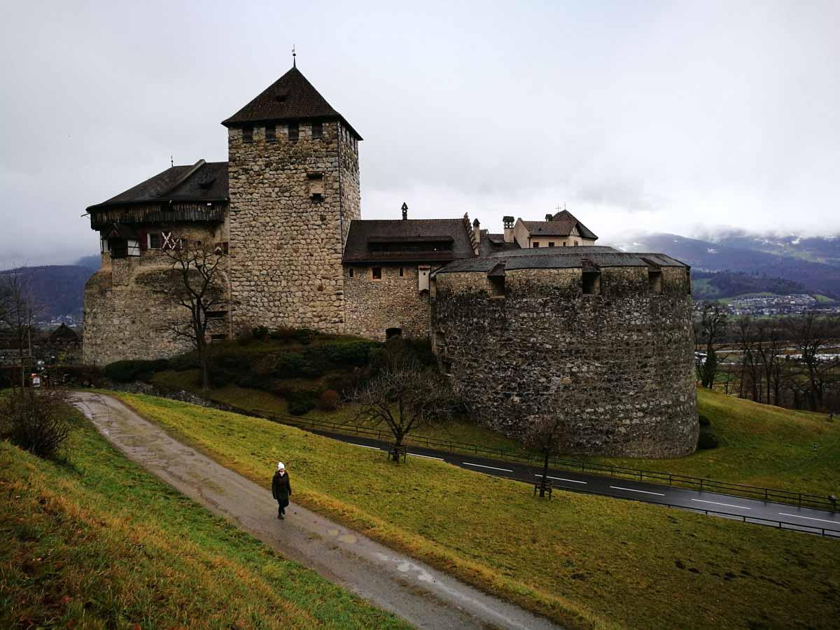 El castillo de Vaduz