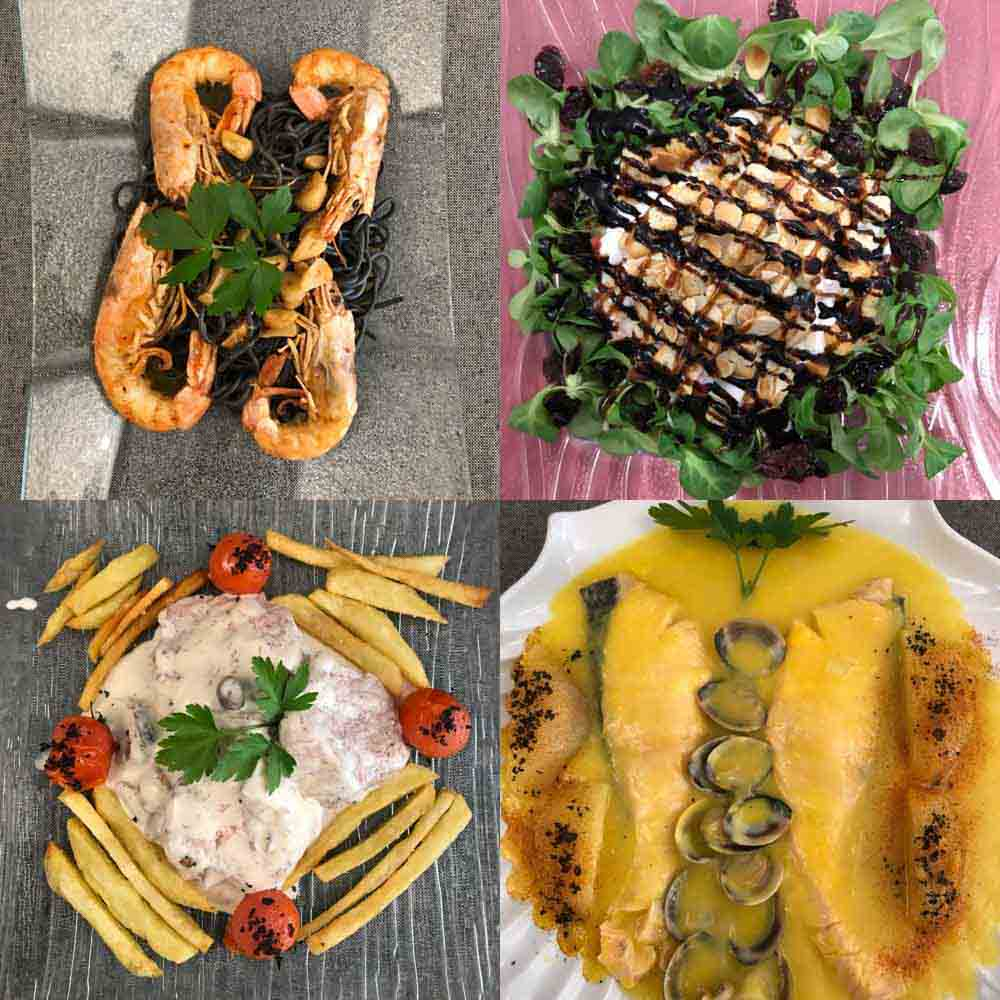 Comer en Iznájar