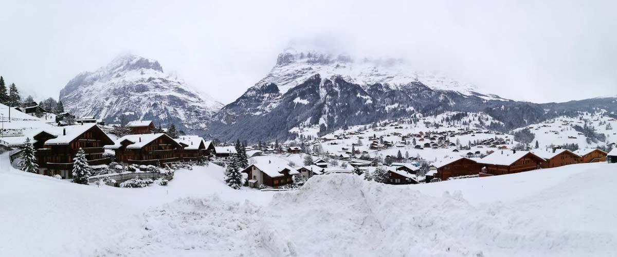 Paisaje en Suiza