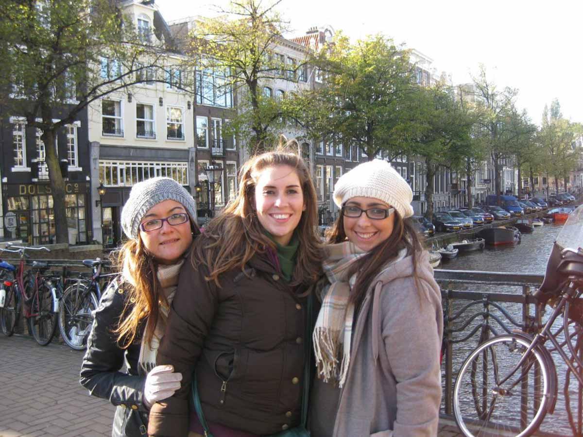 Amsterdam con amigas