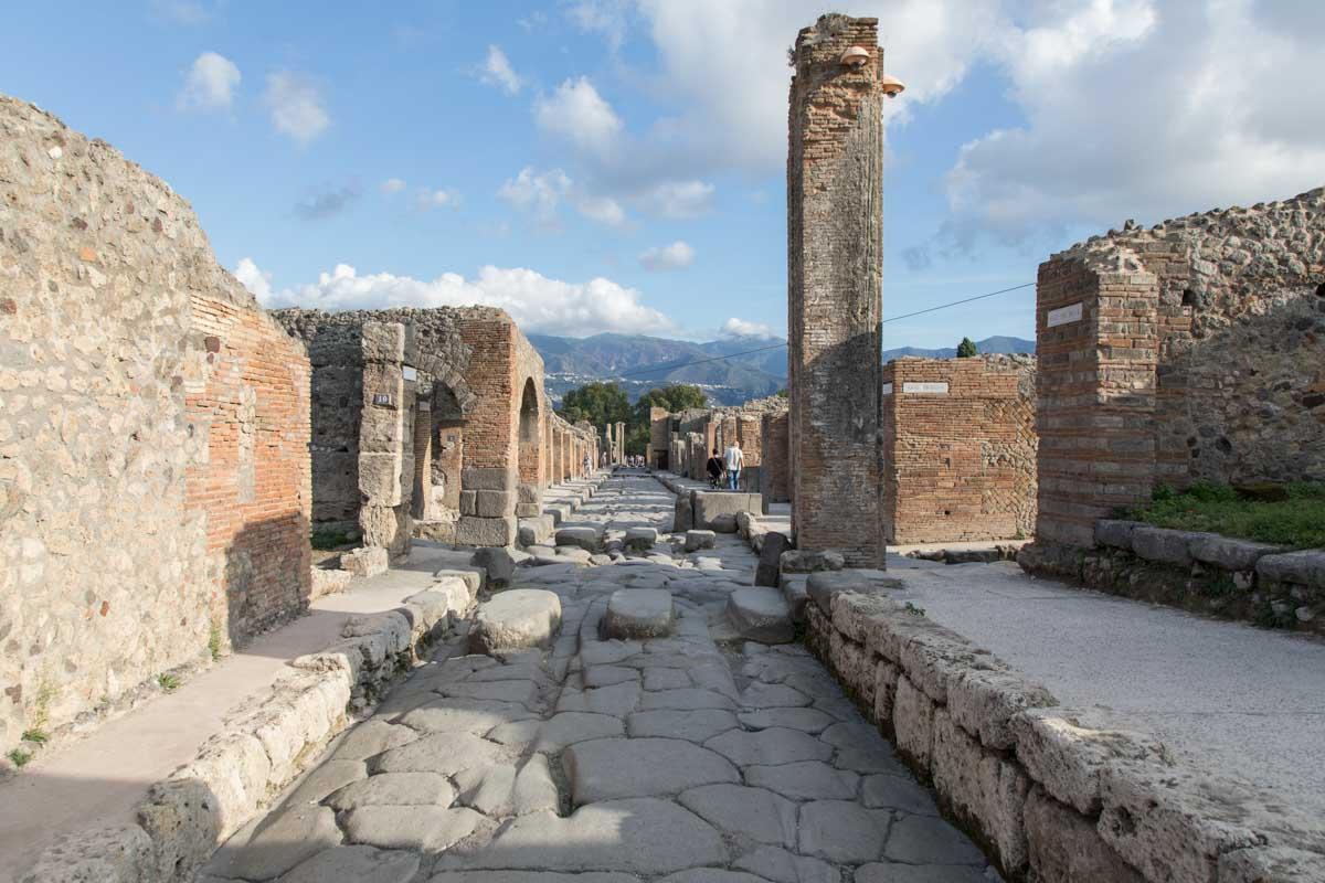 Interior de Pompeya
