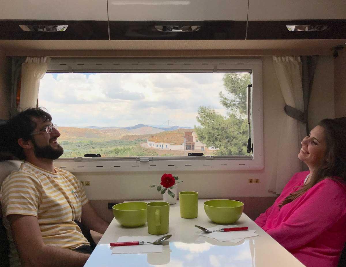 Nuestra caravana por Granada