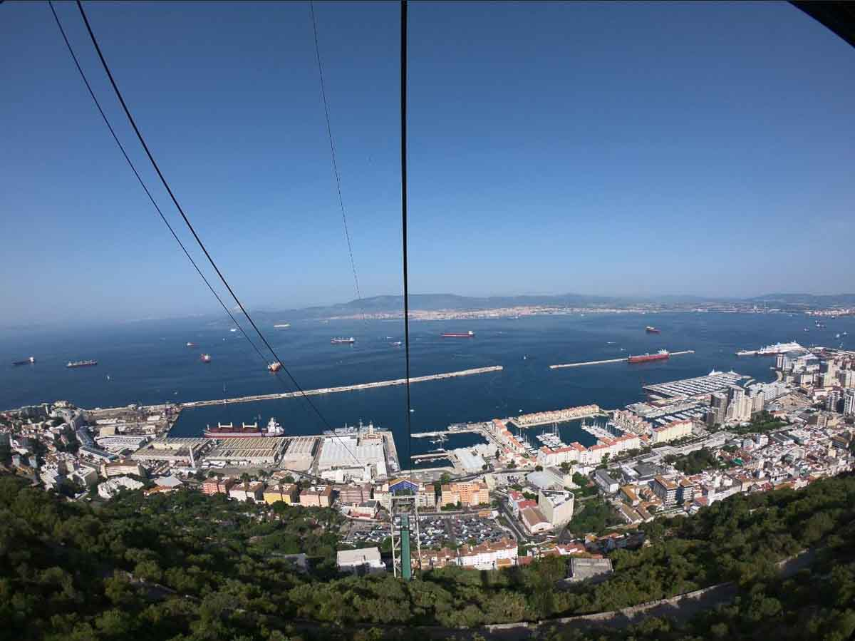 Telesferico en Gibraltar
