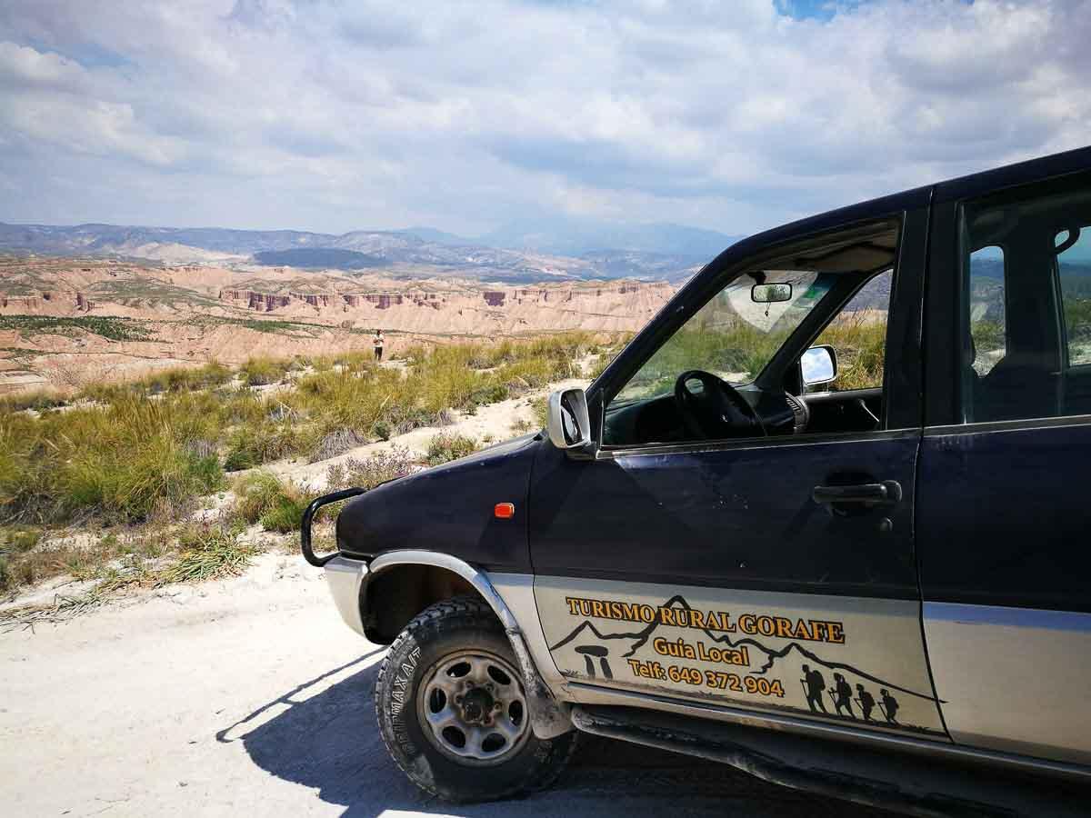 Visitas al desierto de Gorafe
