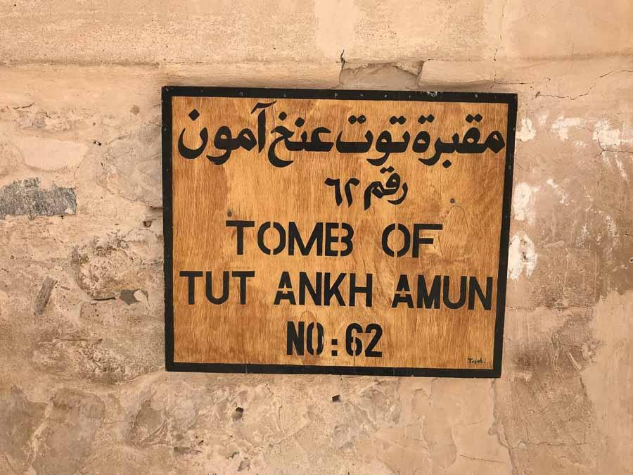 Tumba de Tut Ankh Amun
