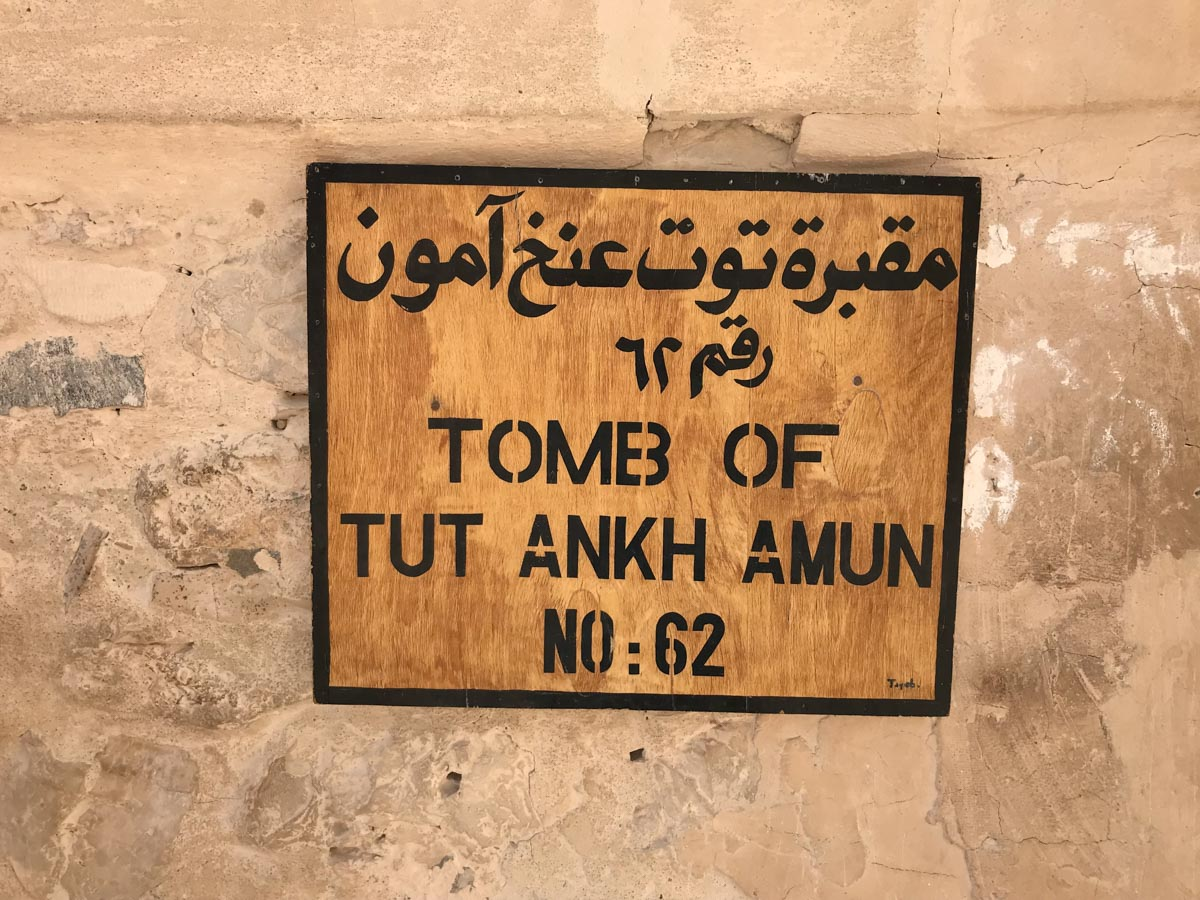 Tumba de Tutankamon
