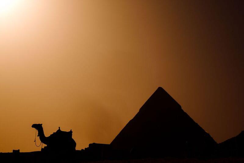 Atardecer en Egipto