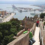 Castillo de Malaga desde arriba