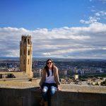 Vistas a la ciudad desde el Castillo
