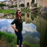 MJ en Besalu, Girona