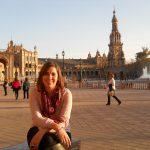 MJ en la Plaza de España