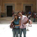 Nosotros en la Alhambra