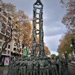 Estatua de los castellers de Tarragona