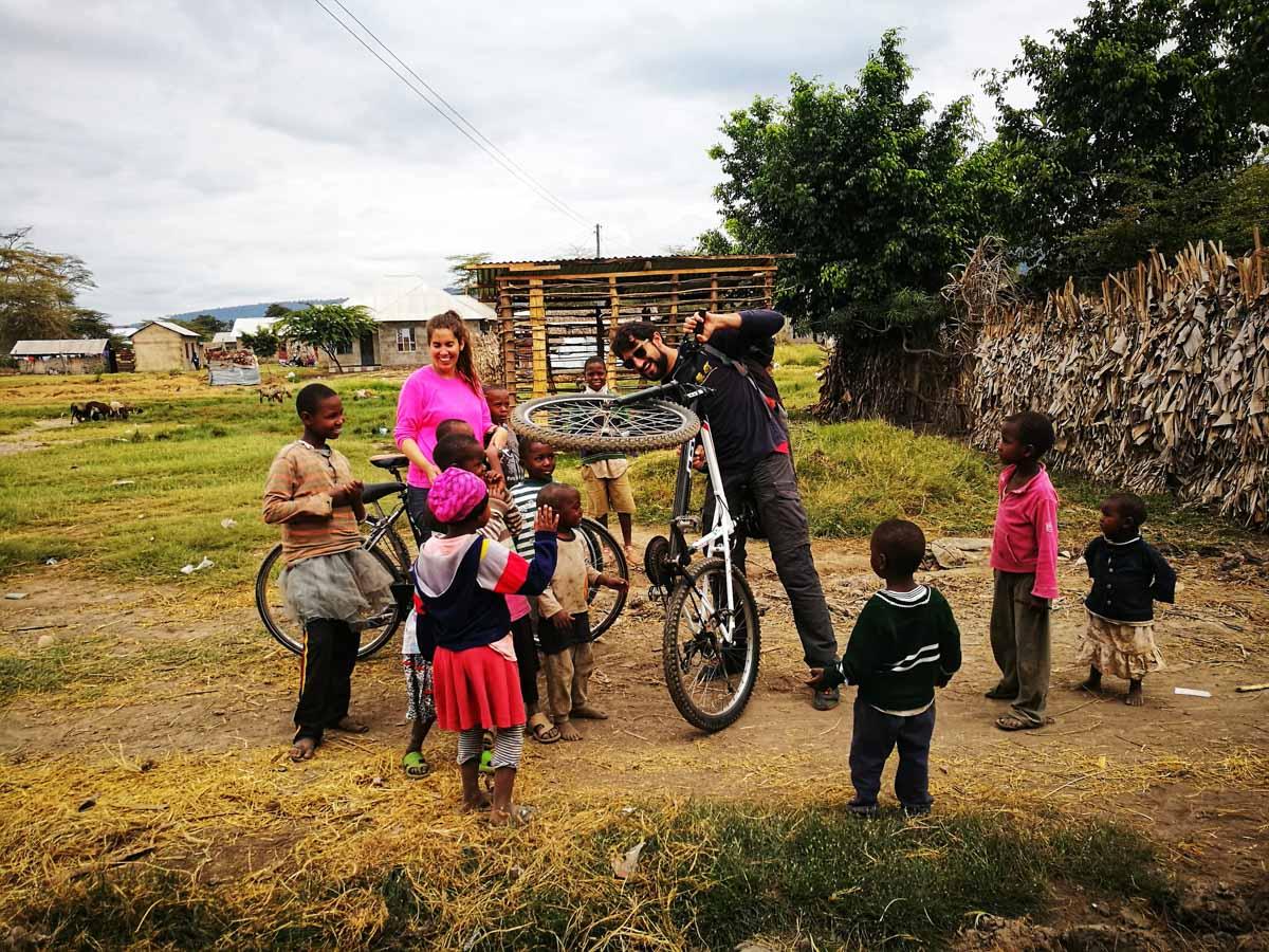 En bici por Tanzania
