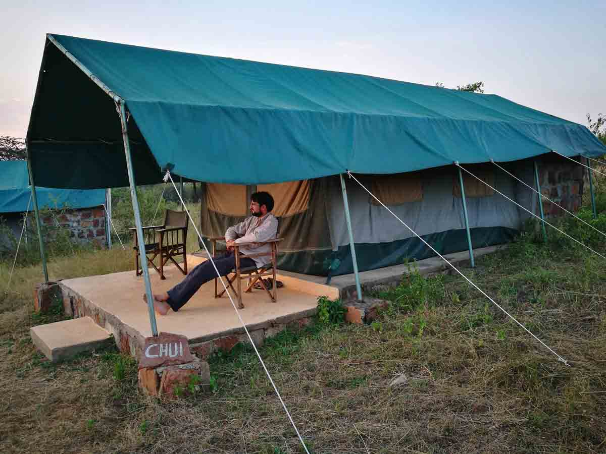 Alojamiento durante el safari