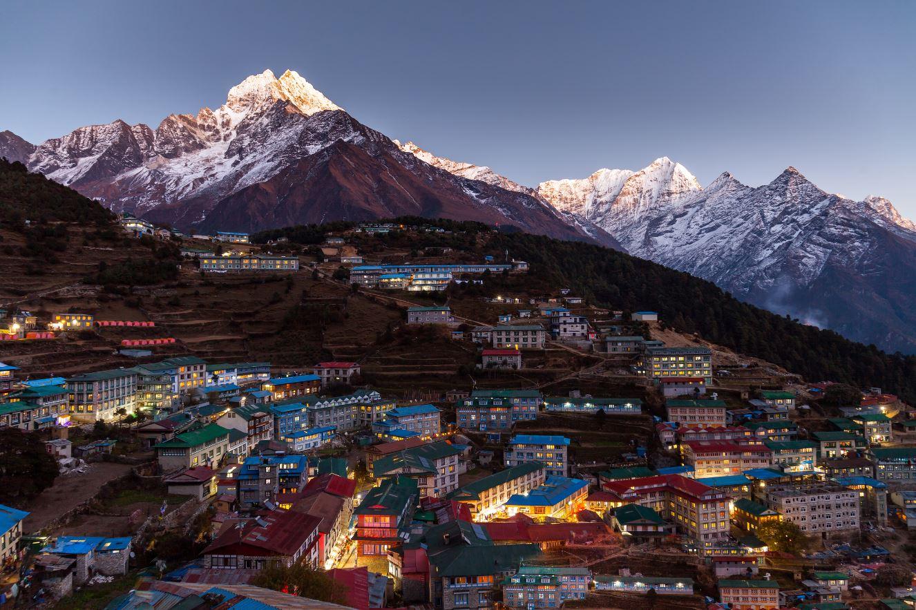 Pueblo de Nepal